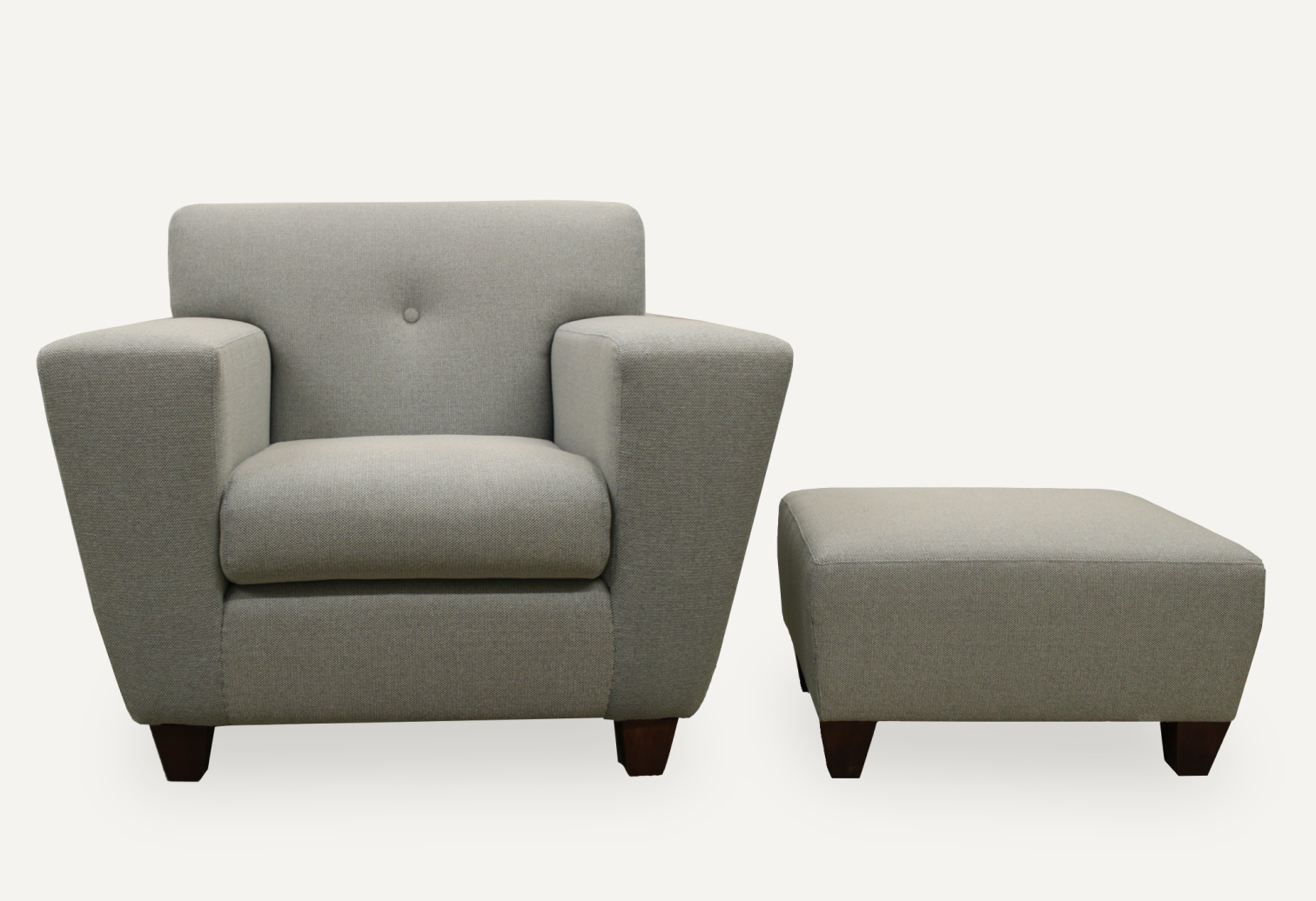 reupholstery Club Armchair and ottoman 50's